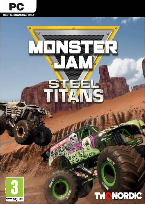 Monster Jam: Steel Titans [PC, Цифровая версия] (Цифровая версия)