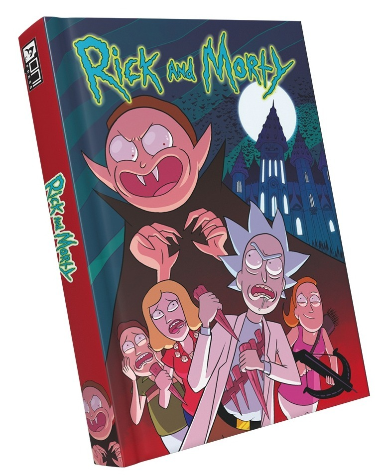 Фото #1: Комикс Рик и Морти: Истории за кадром. Книга 3