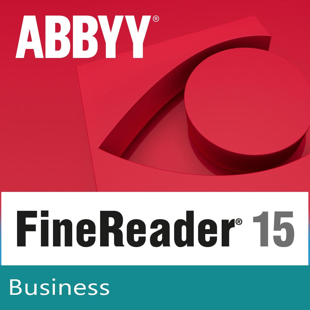 ABBYY FineReader PDF 15 Business (лицензия на 3 года) [Цифровая версия] (Цифровая версия)