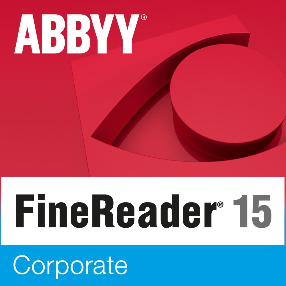 ABBYY FineReader PDF 15 Corporate 3 years (лицензия на 3 года) [Цифровая версия] (Цифровая версия)