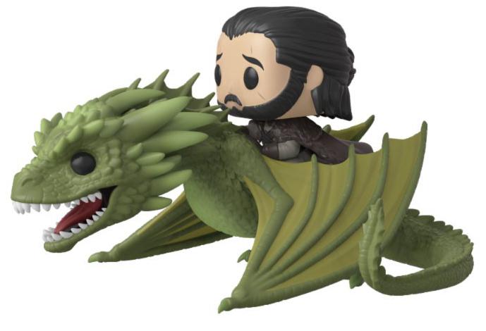 Фигурка Funko POP Rides: Game Of Thrones – Jon Snow With Rhaegal фото