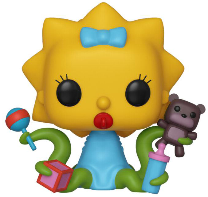 Фигурка Funko POP Television: The Simpsons: Treehouse Of Horror – Alien Maggie (9,5 см) фото