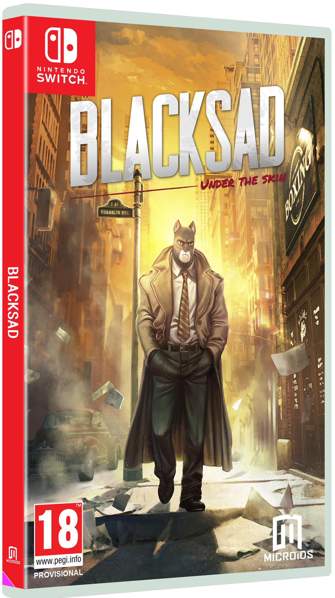 Blacksad: Under The Skin. Коллекционное издание [Switch] недорого