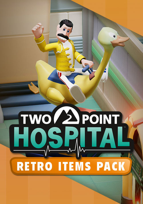 Two Point Hospital: Retro Items pack. Дополнение [PC, Цифровая версия] (Цифровая версия)