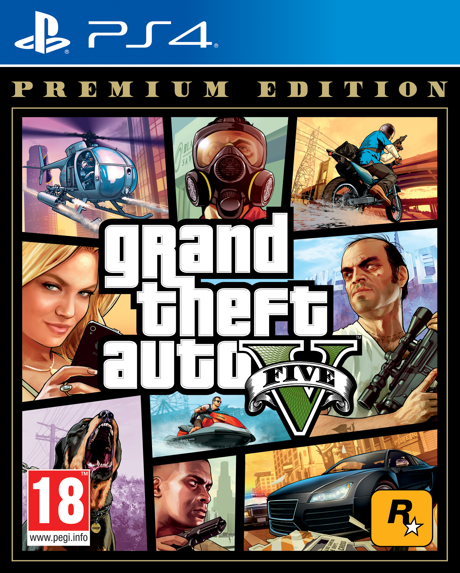 Фото - Grand Theft Auto V. Premium Edition [PS4] grand theft auto v premium edition [xbox one]
