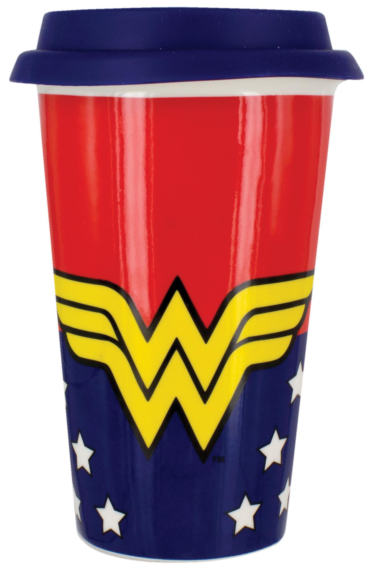 Кружка Wonder Woman: Travel Mug фото