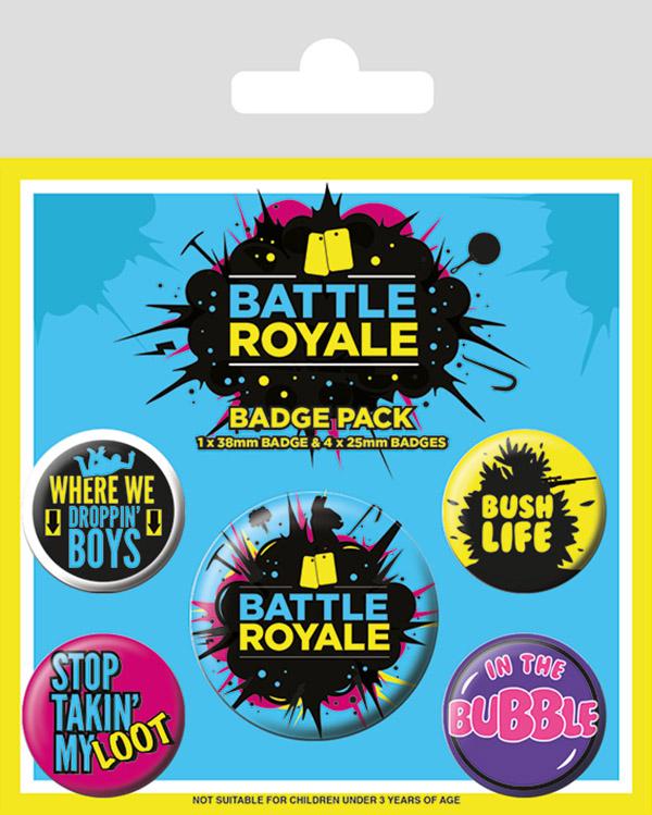 Набор значков Battle Royale: Infographic 5-Pack