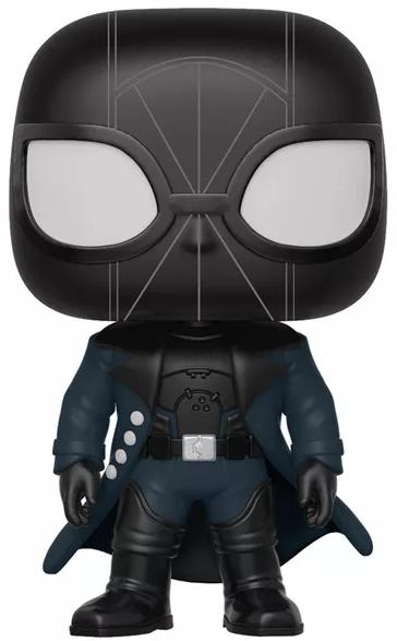 Фигурка Funko POP: Spider-Man Into The Spider-Verse – Noir Exclusive Bobble-Head (9,5 см)