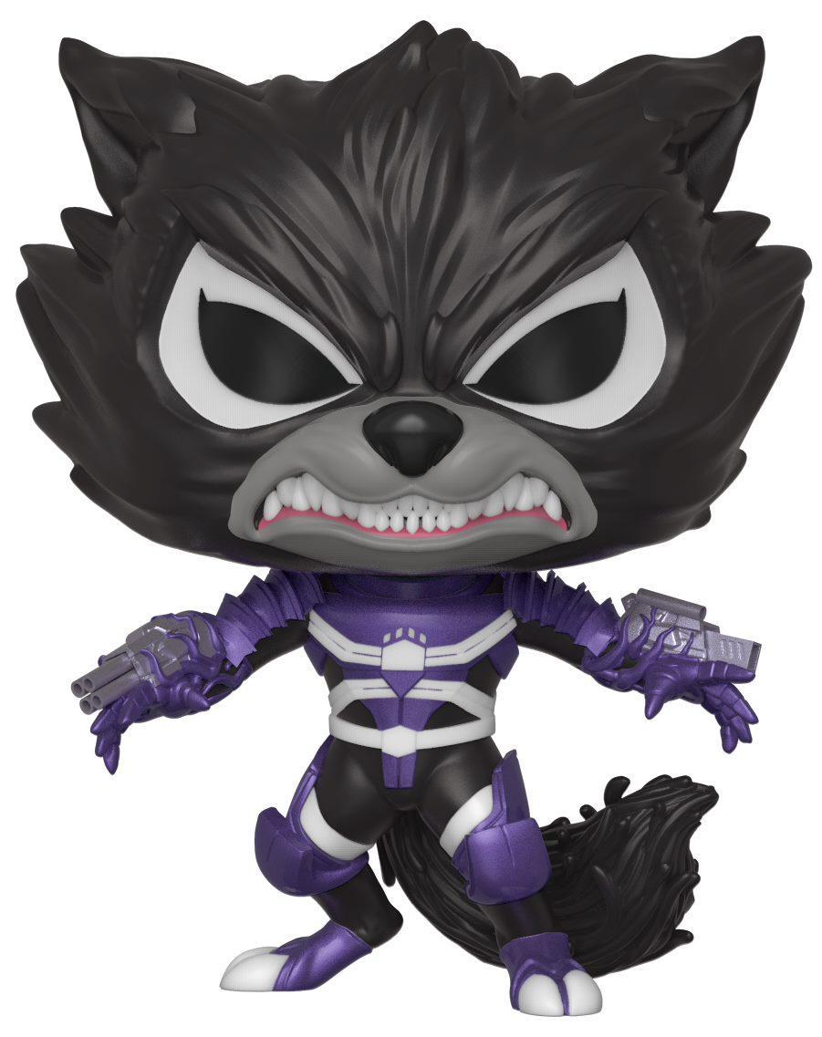 Фигурка Funko POP Marvel: Venom – Venomized Rocket Bobble-Head (9,5 см) фото