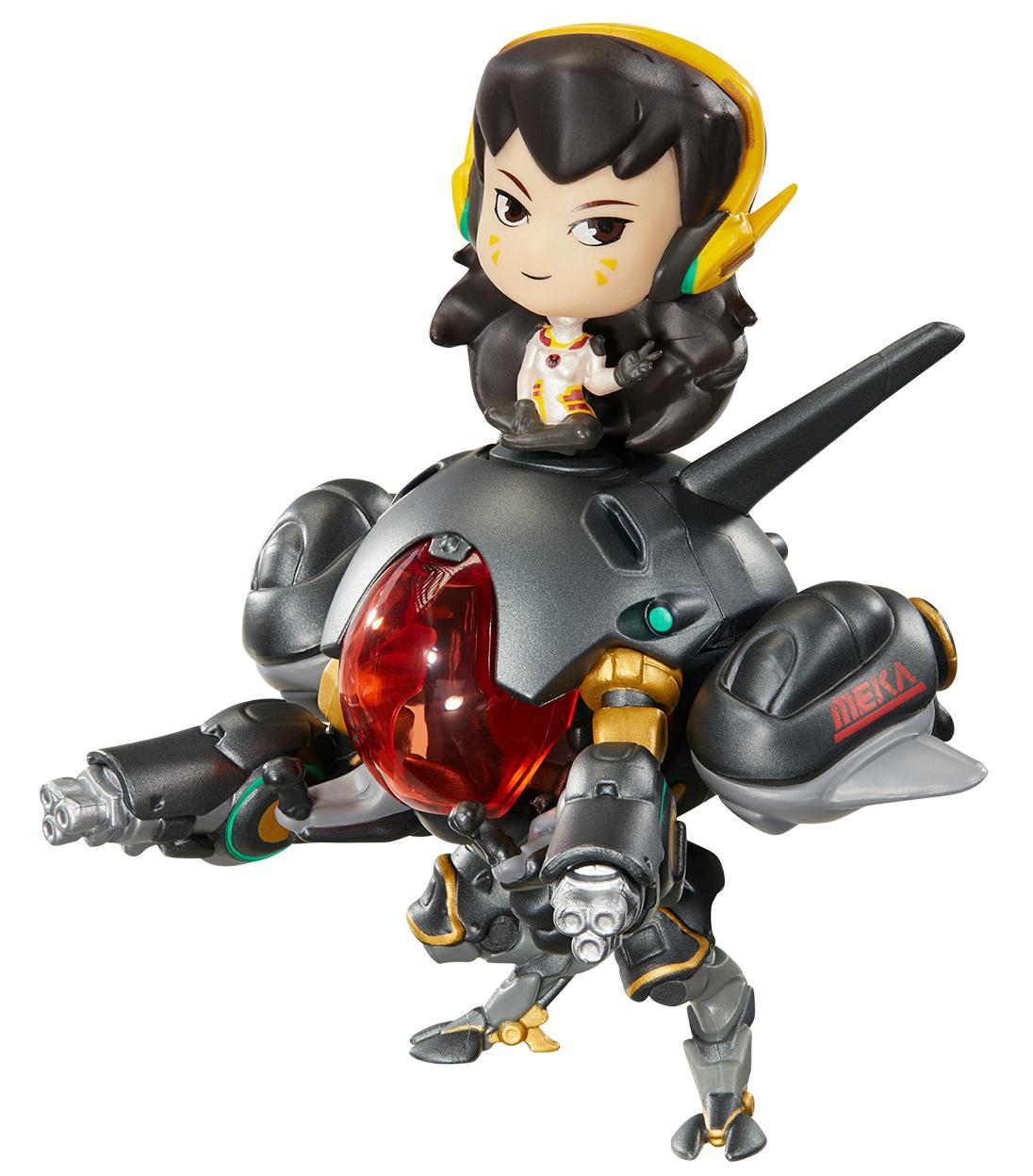 Фигурка Overwatch: Cute But Deadly – D.Va With Meka Carbon Fiber (8 см) фото