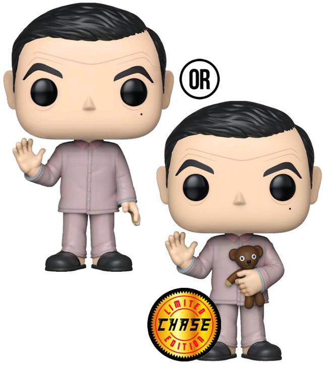 Фигурка Funko POP Television: Mr. Bean – Pajamas With Chase (9,5 см)