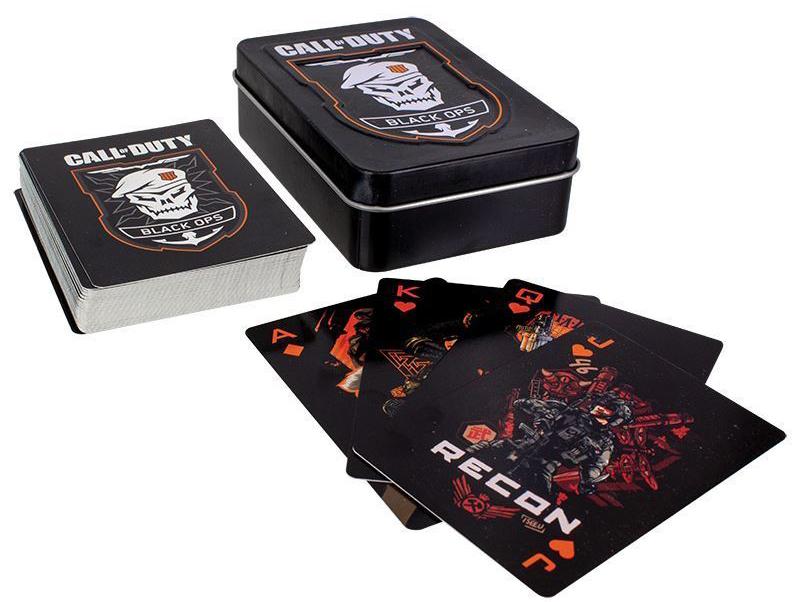 Карты игральные Call Of Duty: Black Ops фото