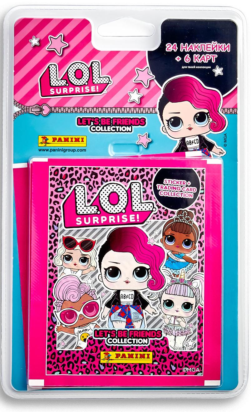 Блистерс с наклейками L.O.L. Surprise! (6 наборов) фото