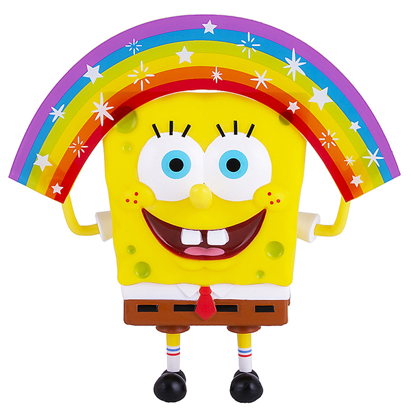 Фигурка Spongebob Squarepants – Spongebob Rainbow Memes Collection (20 см) фото