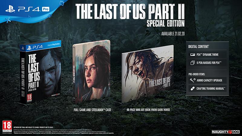 Одни из нас: Часть II. Special Edition [PS4] фото