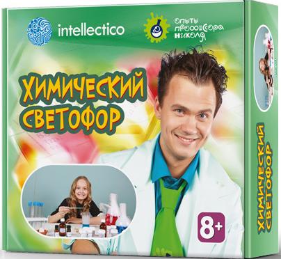 Набор для опытов Опыты профессора Николя: Химический светофор фото