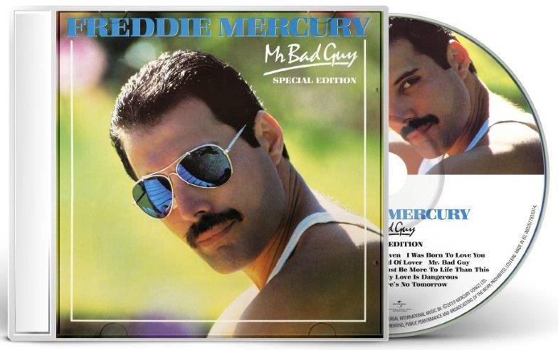 Freddie Mercury – Mr Bad Guy (CD) фото