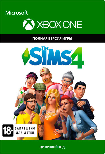 The Sims 4 [Xbox One, Цифровая версия] (Цифровая версия) фото