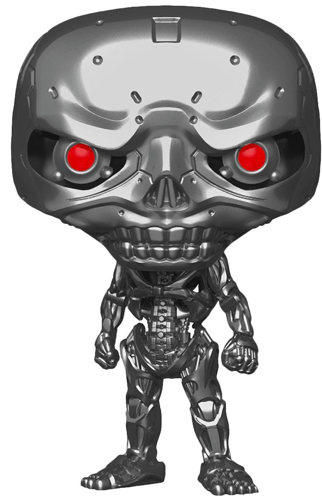 Фигурка Funko POP Movies: Terminator Dark Fate – Rev-9 Endoskeleton (9,5 см) фигурка funko pop movies alien covenant – david 9 5 см