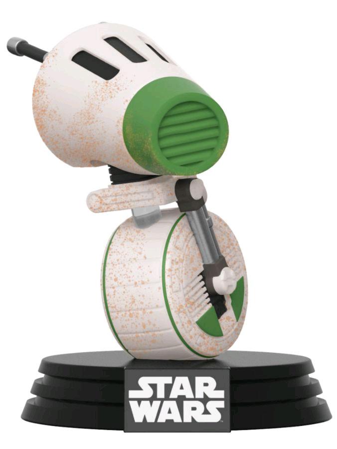 Фото - Фигурка Funko POP: Star Wars Rise of Skywalker – D-0 Bobble-Head (9,5 см) фигурка funko pop star wars rise of skywalker – jannah bobble head 9 5 см