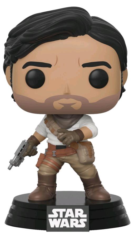 Фигурка Funko POP: Star Wars Rise of Skywalker – Poe Dameron Bobble-Head (9,5 см) alex segura star wars poe dameron freier fall