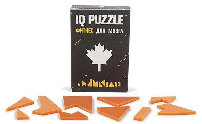 IQ Puzzle Кленовый лист фото