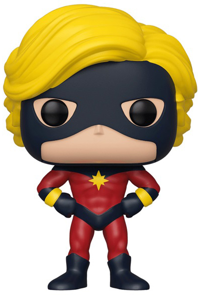 Фигурка Funko POP: Marvel 80 Years – Captain Mar-Vell First Appearance Bobble-Head (9,5 см) фото
