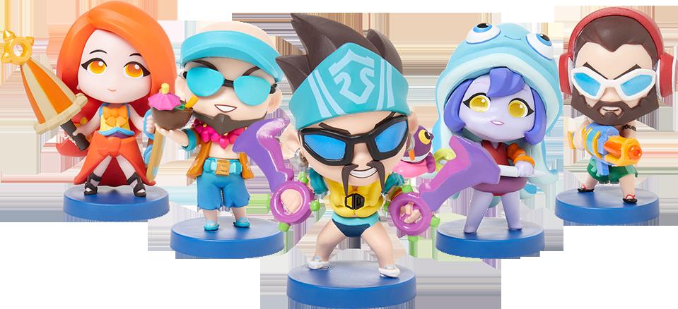 Набор фигурок League Of Legends – Pool Party Team Minis недорого