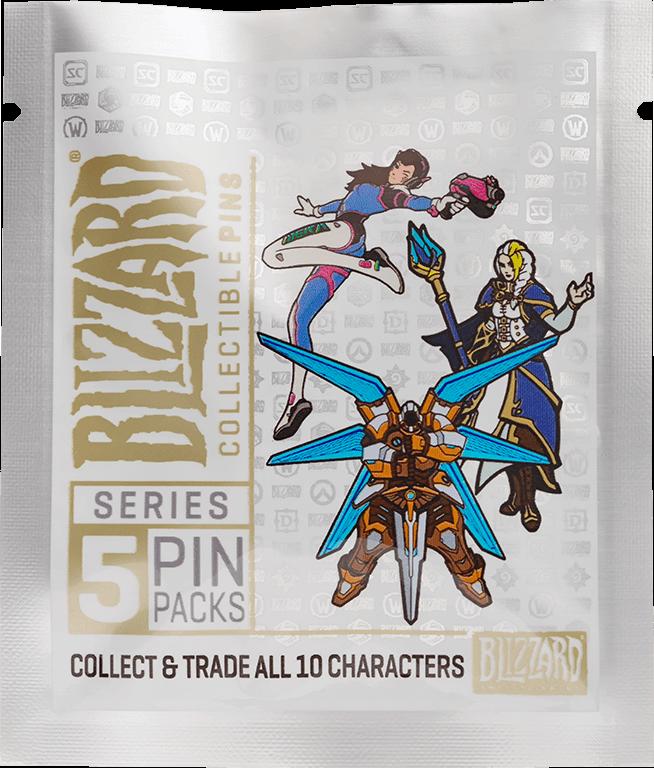 Значок Blizzard: Collectible Pins. Series 5 (1 шт. в ассортименте)