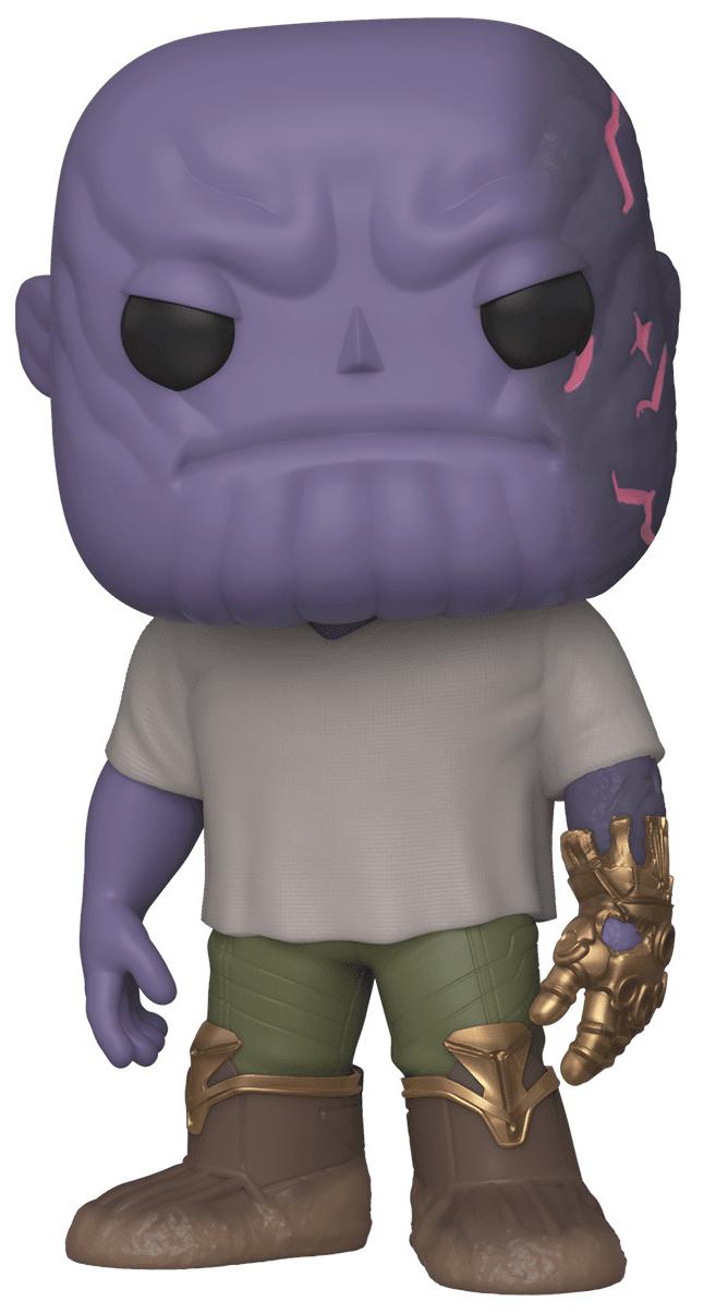 Фигурка Funko POP Marvel: Avengers Endgame – Casual Thanos With Gauntlet Bobble-Head (9,5 см) фото