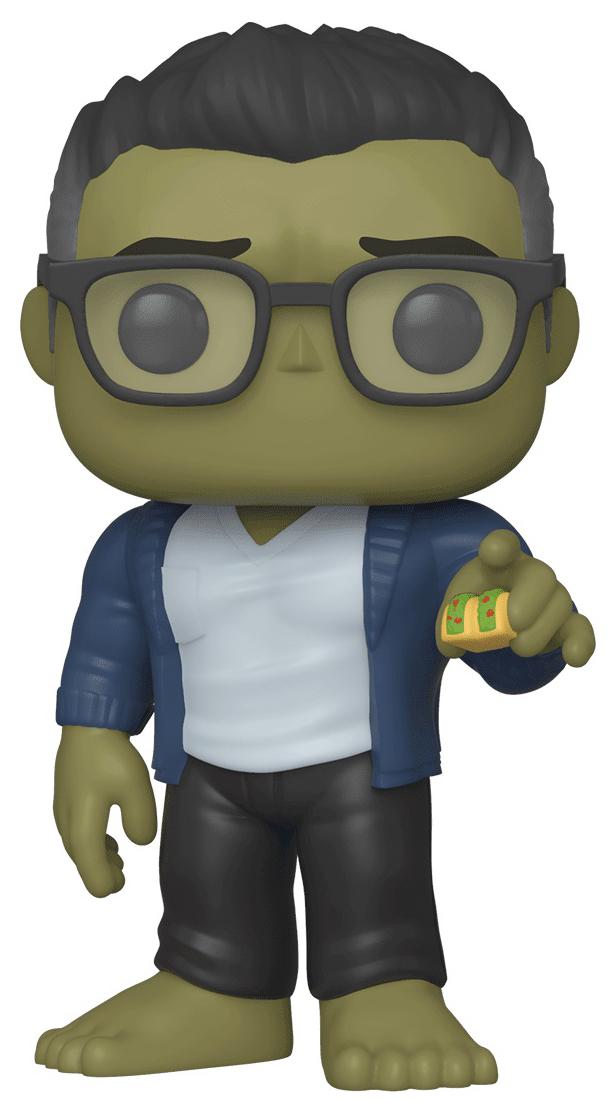 Фигурка Funko POP Marvel: Avengers Endgame – Hulk With Taco Bobble-Head (9,5 см) фото