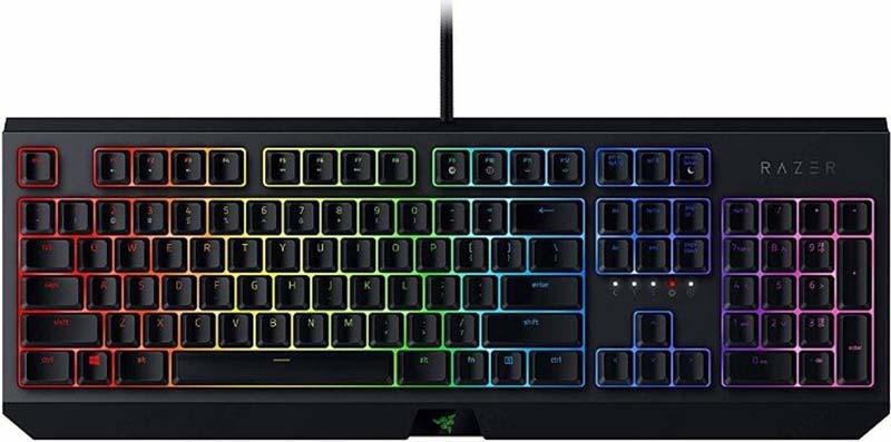 Клавиатура Razer Blackwidow проводная механическая игровая с подсветкой для PC фото