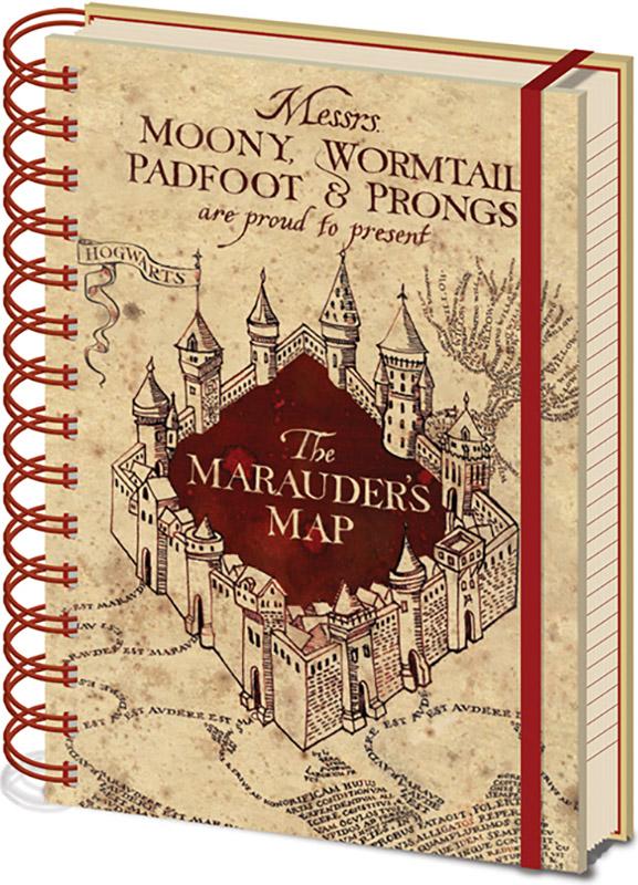 Блокнот Harry Potter: The Marauders Map фото