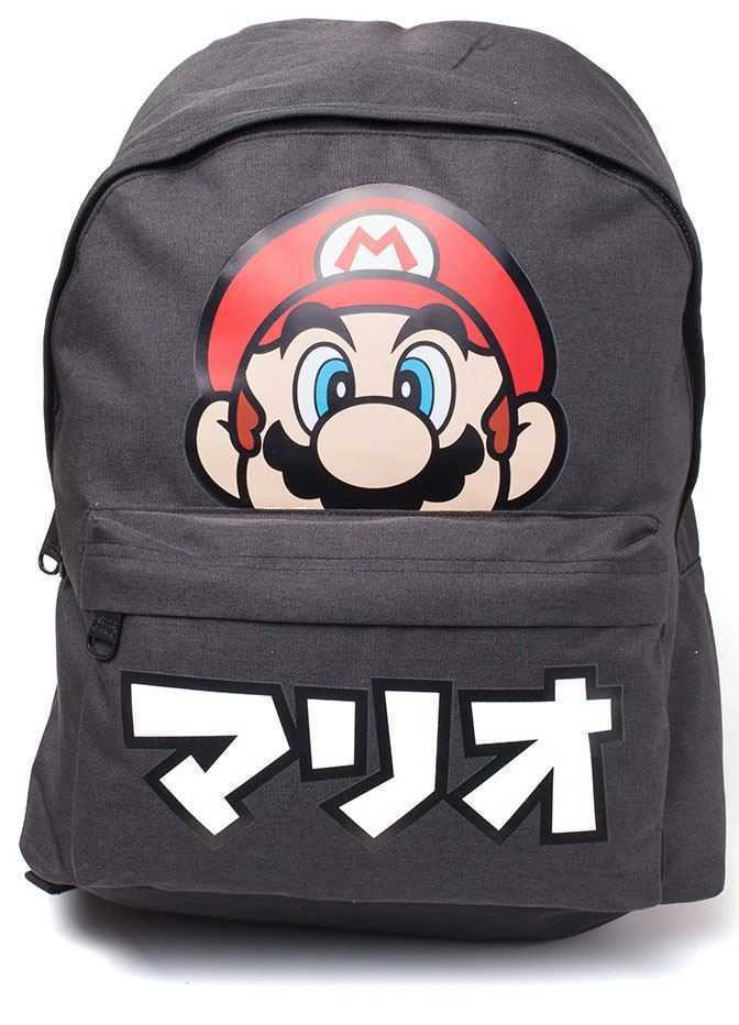 Рюкзак Nintendo: Super Mario Japanese Text Placed Printed фото