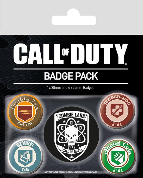 Набор значков Call Of Duty: Soda фото