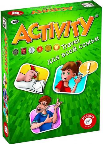 Настольная игра Activity: Travel – Для всей семьи фото