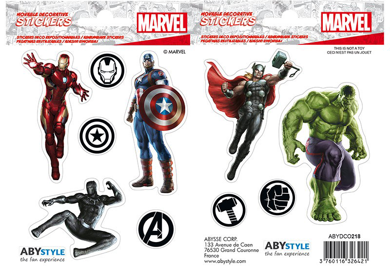 Набор стикеров Marvel: Avengers