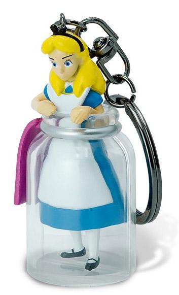 Брелок Alice in Wonderland: Alice in The Bottle 3D фото