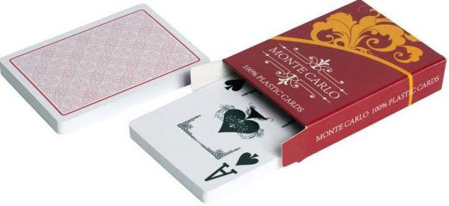 Карты для покера Monte Carlo