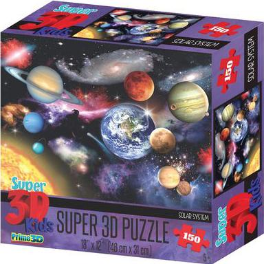 Super 3D Puzzle: Солнечная система фото
