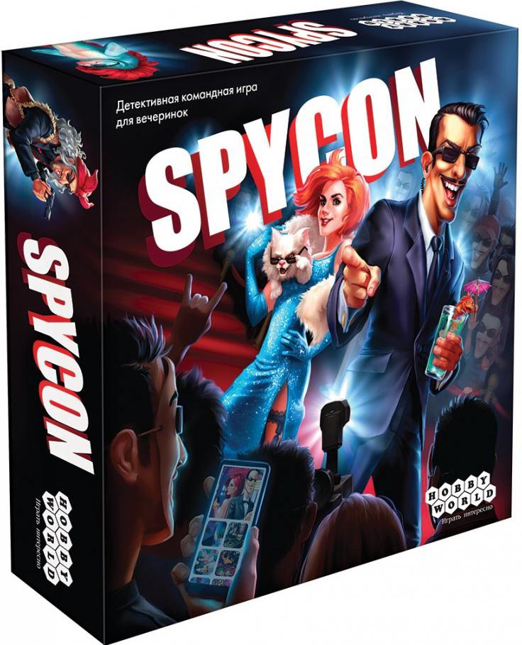 Настольная игра Spycon фото