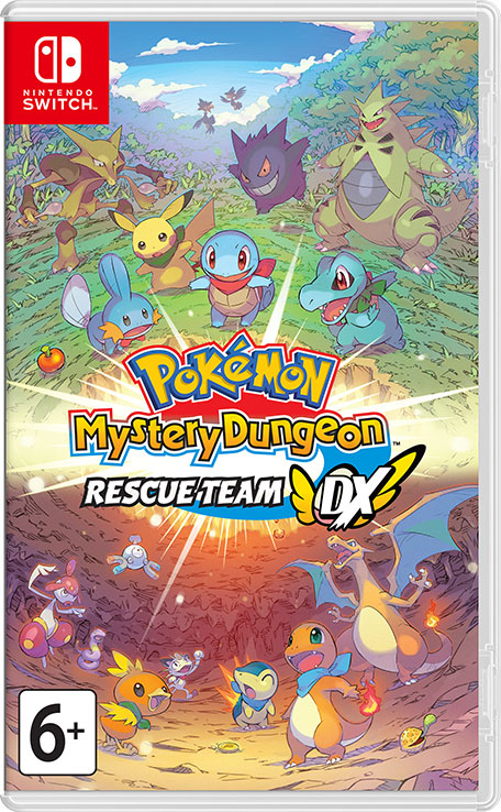 Фото - Pokemon Mystery Dungeon: Rescue Team DX [Switch] rescue team