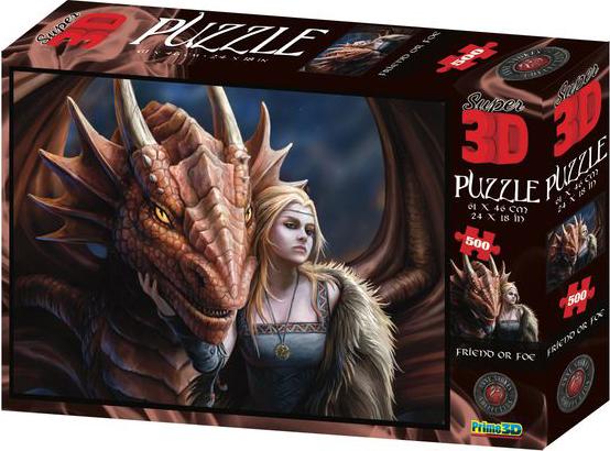 Super 3D Puzzle: Друг или враг фото