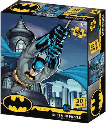 Super 3D Puzzle: Полет Бэтмана фото