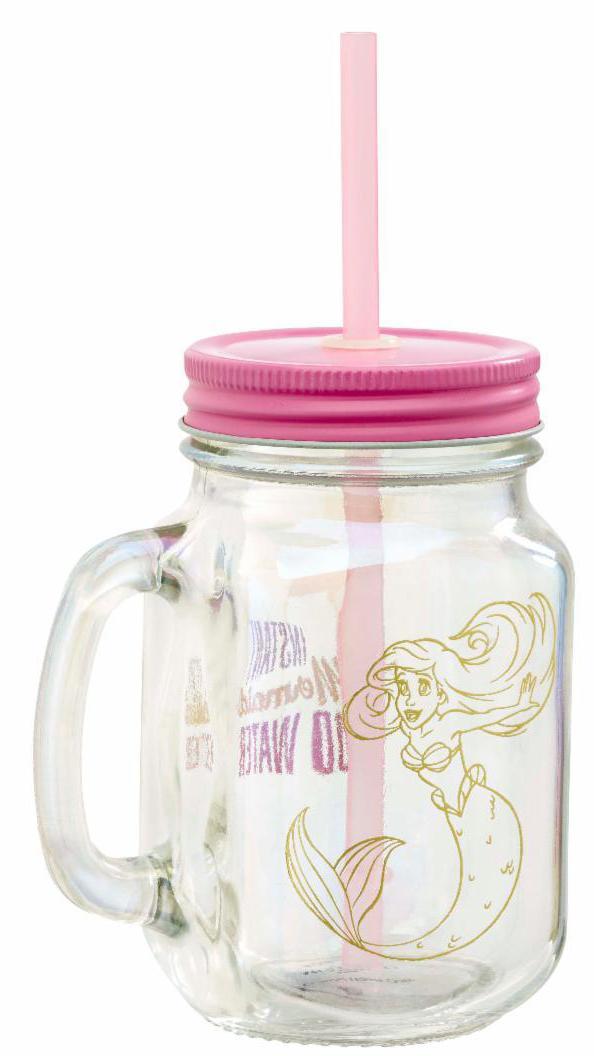 Фото - Кружка Funko Disney Princess: The Little Mermaid – Pearl Anniversary Instant Mermaid Mason Jar the little mermaid