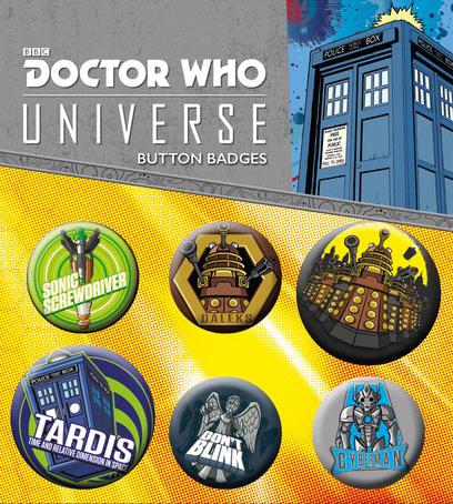 Набор значков Doctor Who: Alien Adventures фото