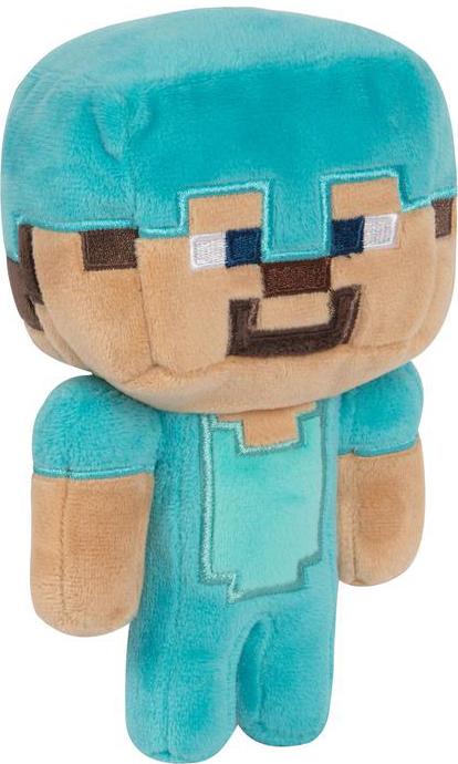 Мягкая игрушка Minecraft: Happy Explorer Diamond Steve (18 см)