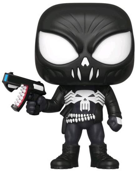 Фигурка Funko POP Marvel: Spider-Man Maximum Venom – Venomized Punisher Bobble-Head (9,5 см) фото