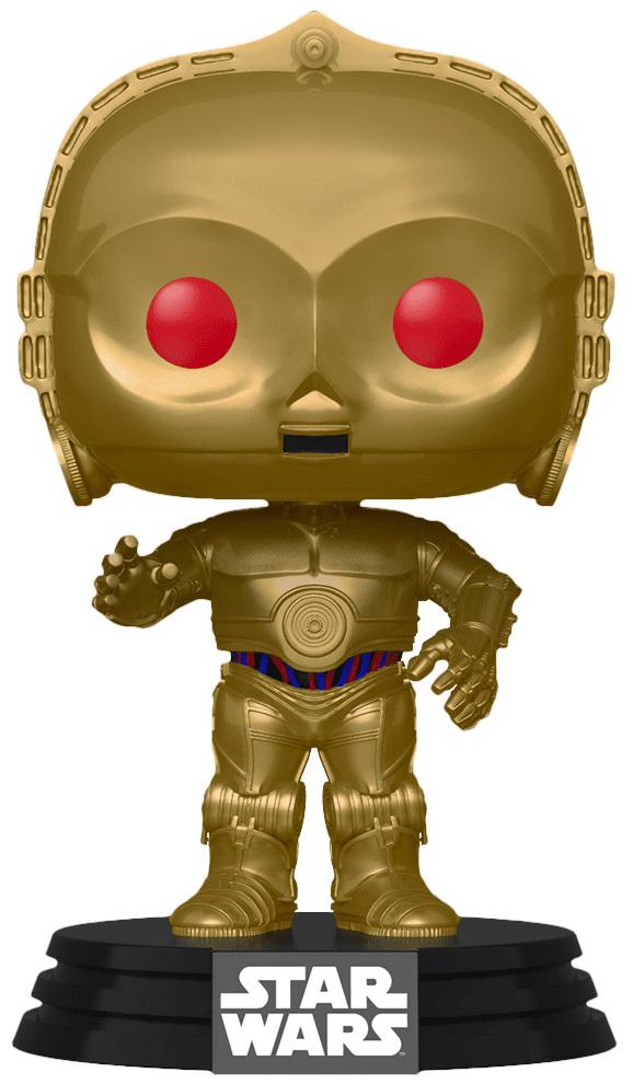 Фигурка Funko POP: Star Wars Rise of Skywalker – C-3PO Red Eyes Bobble-Head (9,5 см) funko pop bobble фигурка star wars solo qi ra pop 6 26977