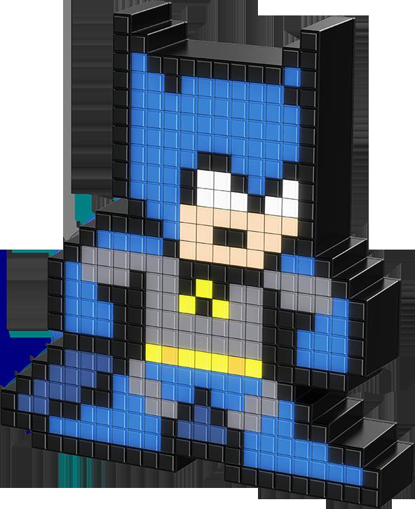 Фигурка Pixel Pals: DC – Batman Светящаяся фото